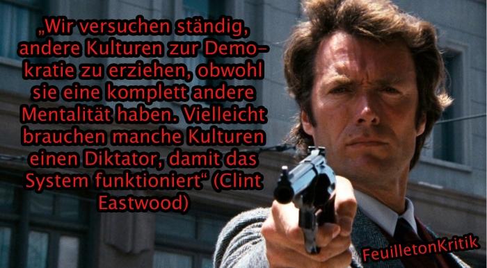Clint Eastwood Zitat