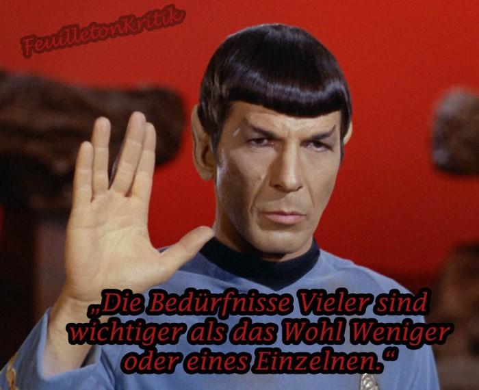 Mr Spock Zitat